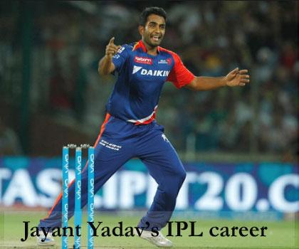 Jayant yadav IPL