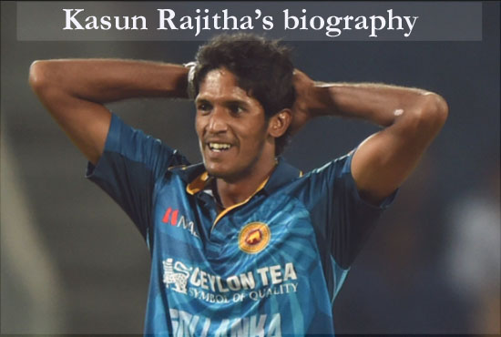 Kasun Rajitha Cricketer, Batting, IPL, wife, family, age, height and more