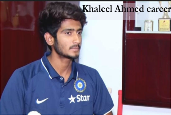 khaleel Ahmed Cricketer, Bowling, IPL, wife, family, age, height and more