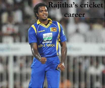 Rajitha's bowling