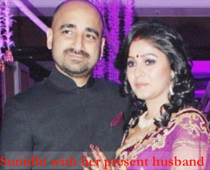 Sunidhi Chauhan husband