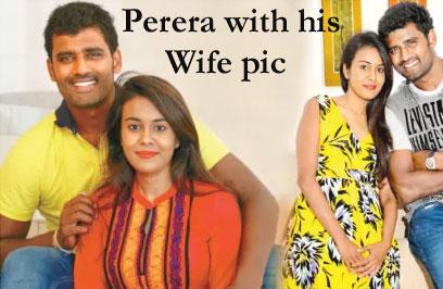 Thisara Perera's wife