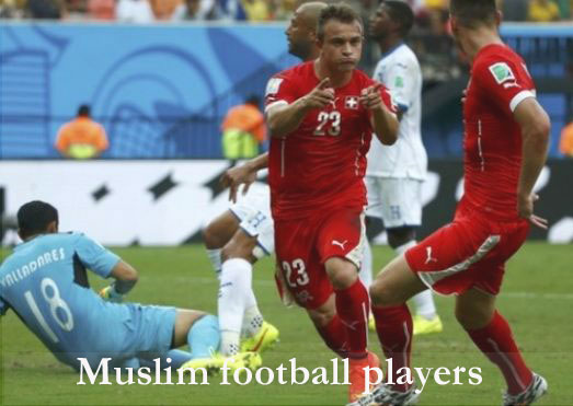 Muslim football players