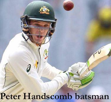 Peter Handscomb batting