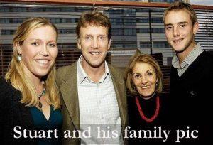 Stuart Broad's family