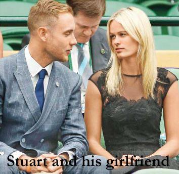 Stuart Broad girlfriend