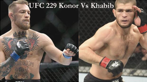 UFC 229 Konor vs Khabib