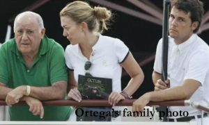 Amancio Ortega's family