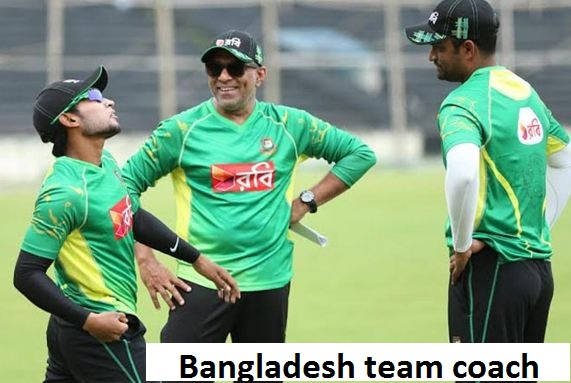 Bangladesh cricket team coach