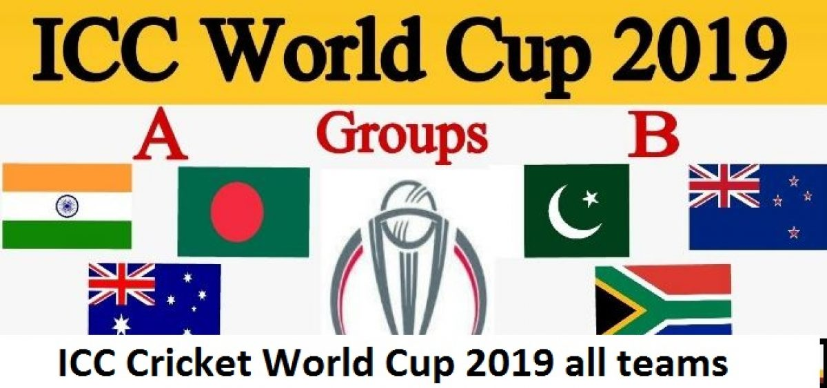 ICC World Cup 2019 teams list, World Cup captain and players details