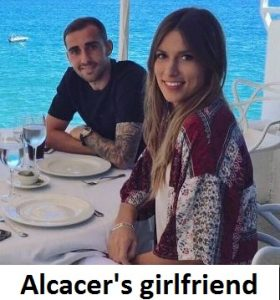 Paco Alcacer girlfriend