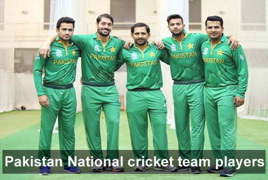 Pakistan National Cricket team players, captain, and coach
