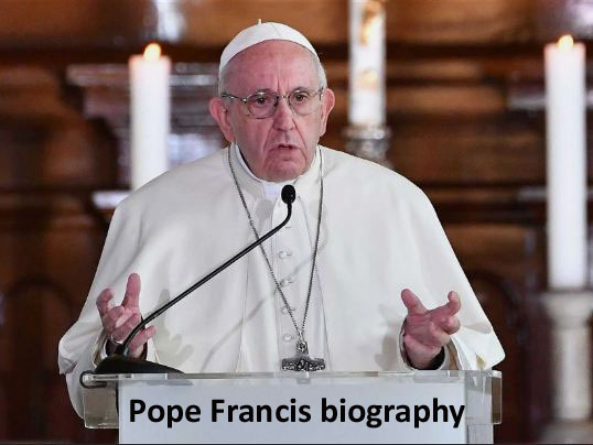 Pope Francis biography