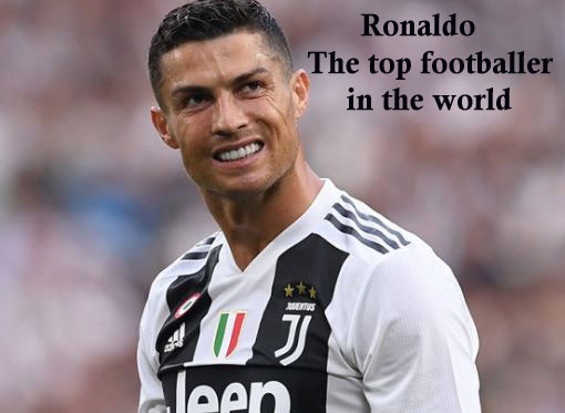 Ronaldo the top foot baller