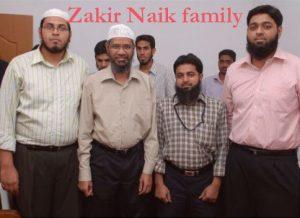 Zakir Naik family