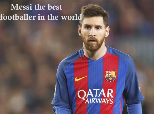 Messi the best footballers