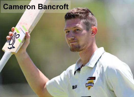 Cameron Bancroft cricket career
