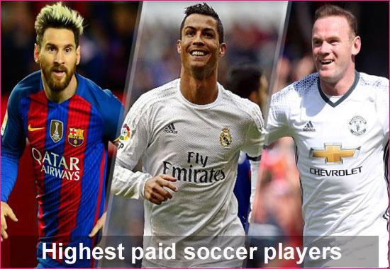 Top 30 Highest paid soccer players  2019 profiles in the world full details.