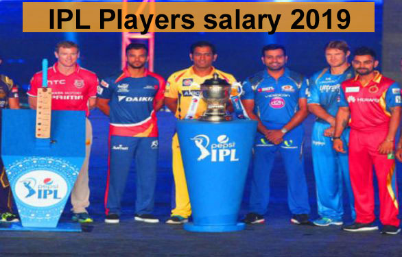 IPl players salary 2019