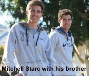 Mitchell Starc's brother