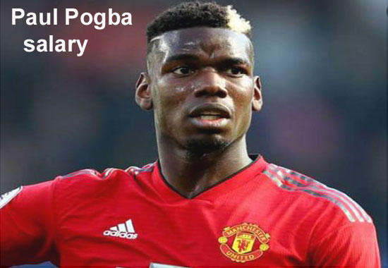 Paul Pogba salary