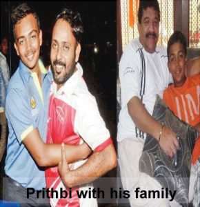 Prithbi Shaw's family