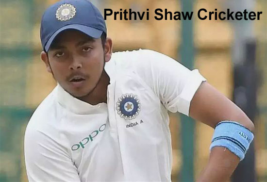 Prithvi Shaw Cricketer, Batting, IPL, wife, family, age, height and so