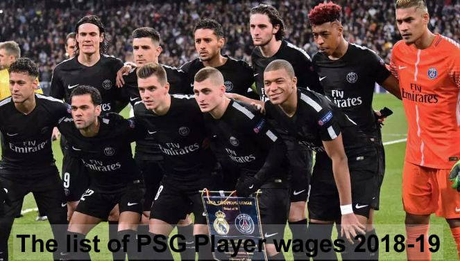 psg player wages