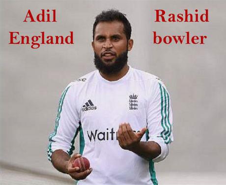Adil Rashid bowling