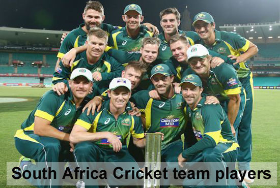 South Africa National Cricket Team Players Schedule