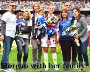 Alex Morgan family