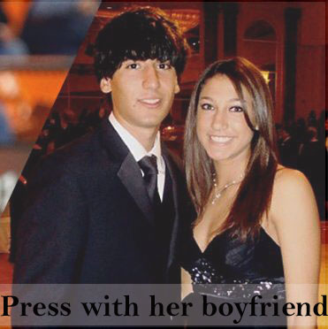 Press and her boyfriend
