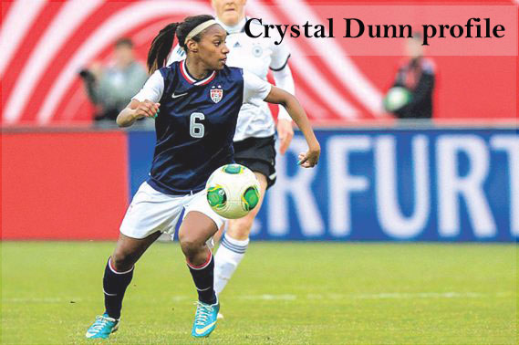 Crystal Dunn biography