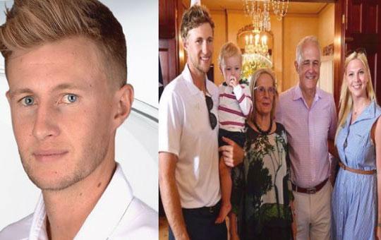Joe Root family