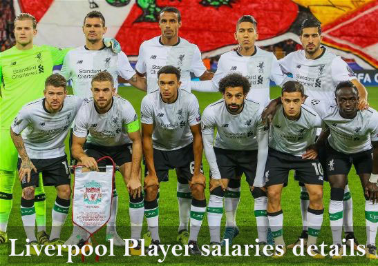 Liverpool player wages