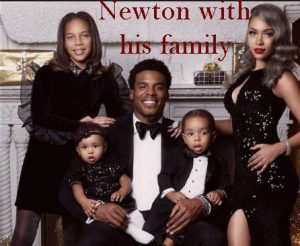 Cam Newton family