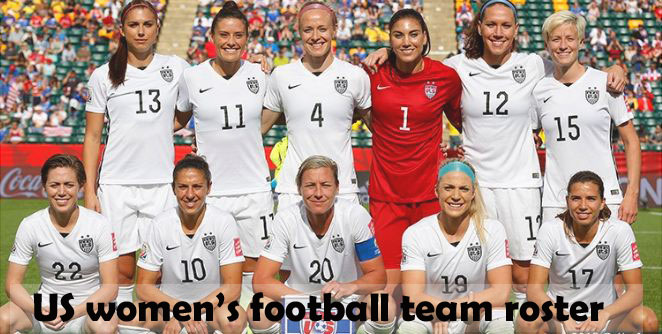 us women's soccer team roster