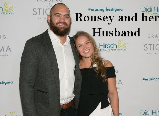 Ronda Rosey and her husband
