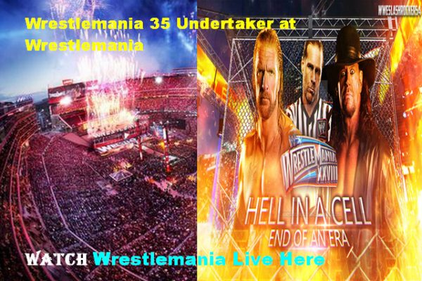 wrestle mania 35 Live Online