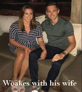 Chris Woakes wife