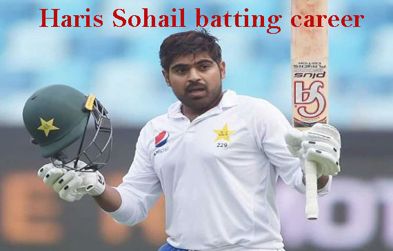 Haris Sohail Cricketer, Batting, father, wife, family, age, height and so