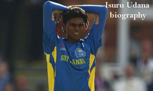 Isuru Udana cricketer