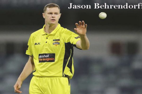 Jason Behrendorff Cricketer, bowling, wife, family, age, height and so