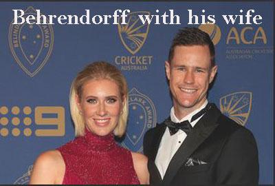 Jason Behrendorff wife