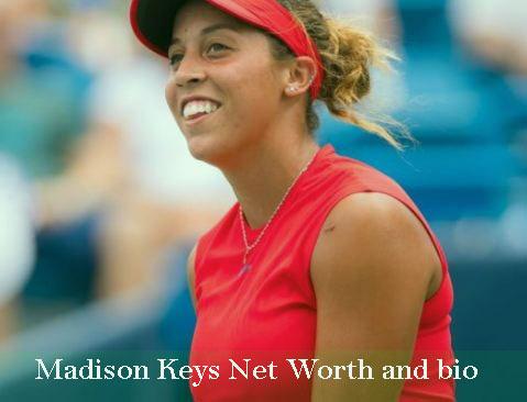 Madison Keys net worth