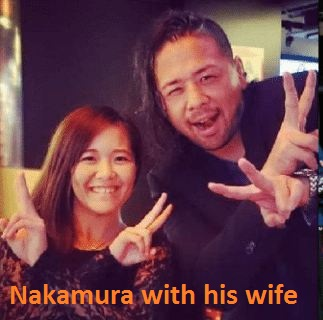 Shinsuke Nakamura's wife
