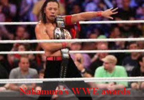 Shinsuke Nakamura WWE career