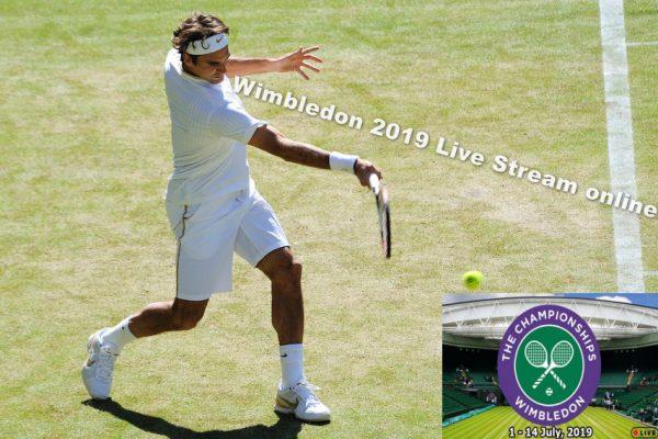 Wimbledon live stream and Grand Slam Schedule
