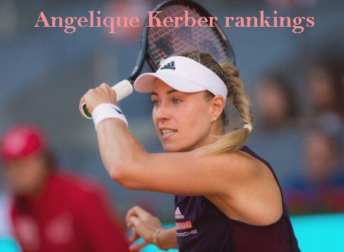 Angelique Kerber rankings