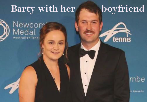 Ashleigh Barty boyfriend